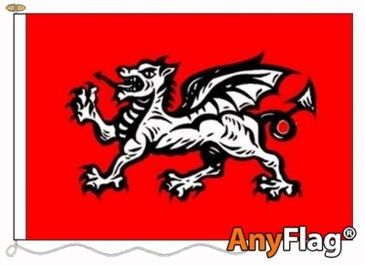 - ENGLISH WESSEX DRAGON B ANYFLAG RANGE - VARIOUS SIZES